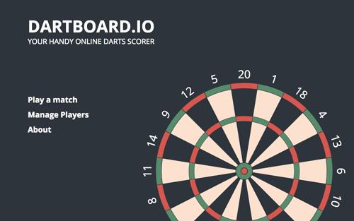 Online Darts Scorer Dartboard Io